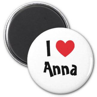 Eu amo Anna Ímã Redondo 5.08cm