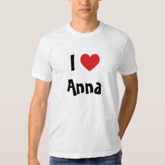 Eu amo Anna T-shirt