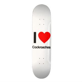 eu amo baratas shape de skate 20,6cm