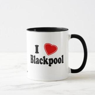 Eu amo Blackpool Caneca