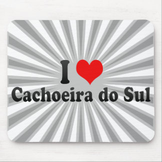 Eu amo Cachoeira do Sul, Brasil Mousepad