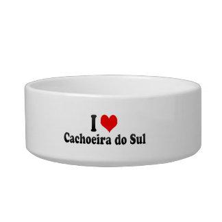 Eu amo Cachoeira do Sul, Brasil Tijela Para Comida De Gatos
