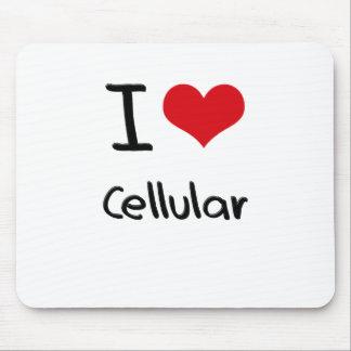 Eu amo celular mousepads