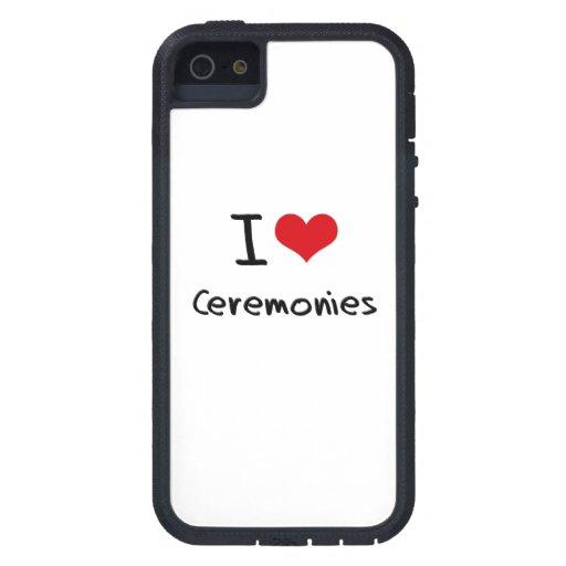 Eu amo cerimónias iPhone 5 capa