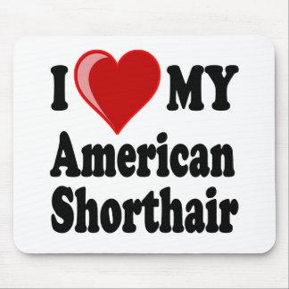Eu amo (coração) meu gato americano de Shorthair