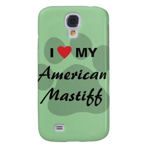 Eu amo (coração) meu Mastiff americano