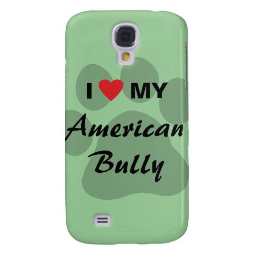 Eu amo (coração) minha intimidação americana