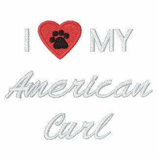 Eu amo (coração) minha onda americana Pawprint