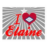 Eu amo Elaine, Arkansas Cartao Postal
