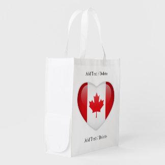 EU AMO ESTAS bolsas - VENDA DIA - Canadá Sacolas Ecológicas Para Supermercado