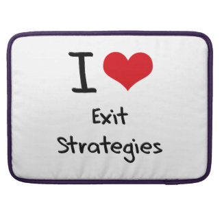 Eu amo estratégias de saída bolsa para MacBook