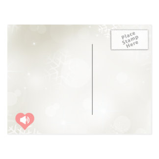 Eu amo fazer o design dos anúncios cartão postal
