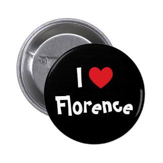 Eu amo Florença Bóton Redondo 5.08cm