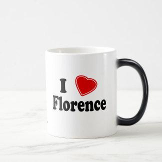 Eu amo Florença Canecas