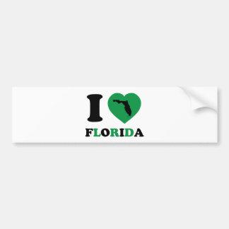 Eu amo Florida Adesivo Para Carro