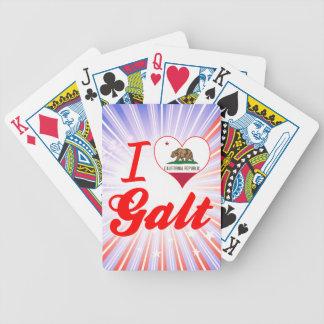 Eu amo Galt, Califórnia Baralhos De Poker