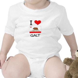 Eu amo GALT Califórnia Tshirts