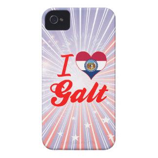 Eu amo Galt, Missouri iPhone 4 Capas