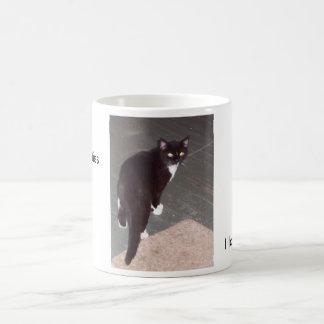 Eu amo gatinhos caneca de café