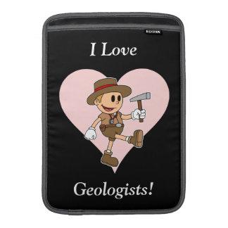 Eu amo geólogos! bolsas de MacBook