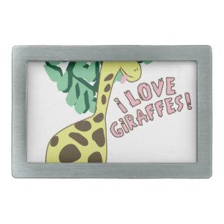 Eu amo girafas!