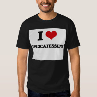 Eu amo guloseimas camiseta