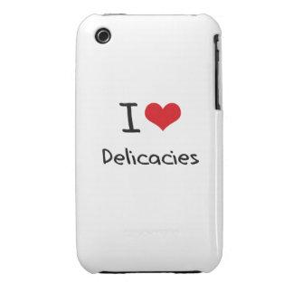 Eu amo guloseimas capas iPhone 3 Case-Mate
