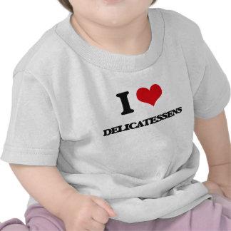 Eu amo guloseimas t-shirts