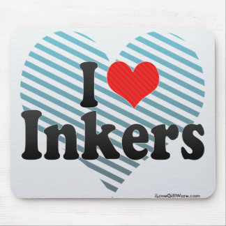 Eu amo Inkers Mousepad