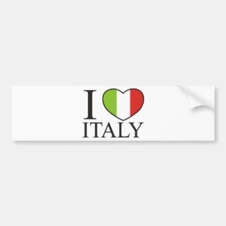 Eu amo Italia Adesivo Para Carro