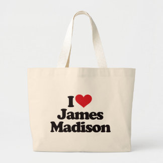 Eu amo James Madison Bolsa Para Compras