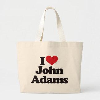 Eu amo John Adams Bolsa Para Compras