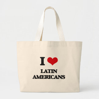 Eu amo latinoes-americanos bolsa