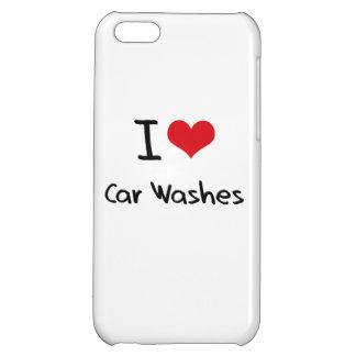 Eu amo lavagens de carros capas para iphone 5C