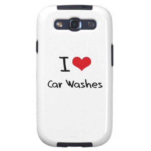 Eu amo lavagens de carros capa galaxy SIII