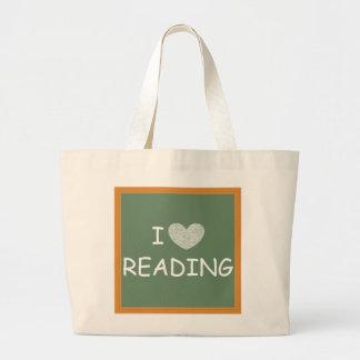 Eu amo ler bolsa