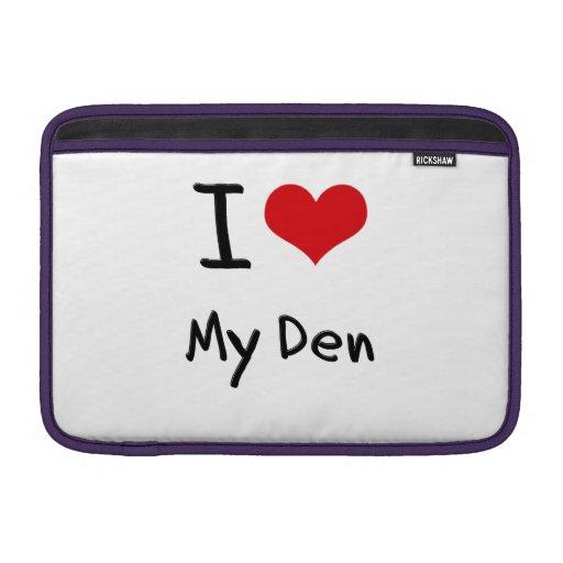 Eu amo meu antro bolsa para MacBook air