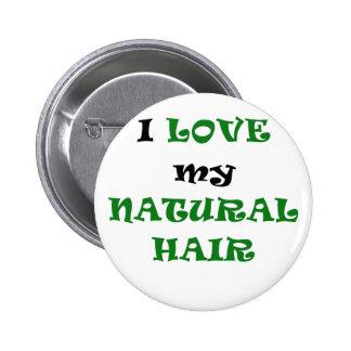 Eu amo meu cabelo natural boton