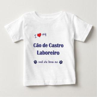 Eu amo meu Cao de Castro Laboreiro (o cão fêmea) T-shirts