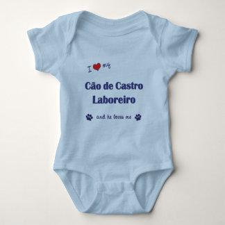 Eu amo meu Cao de Castro Laboreiro (o cão T-shirt