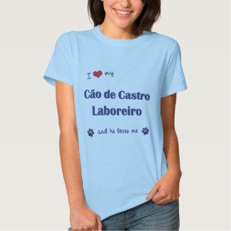 Eu amo meu Cao de Castro Laboreiro (o cão Tshirt