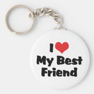 Eu amo meu chaveiro do melhor amigo