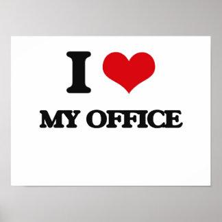 Eu amo meu escritório