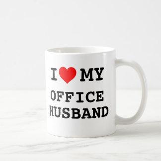 Eu amo meu marido do escritório caneca