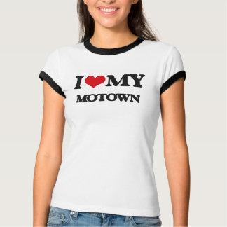 Eu amo meu MOTOWN Camisetas