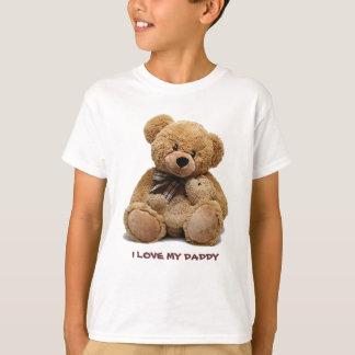 Eu amo meu pai. T-shirt do presente para miúdos
