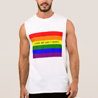 Eu amo meu t-shirt alegre