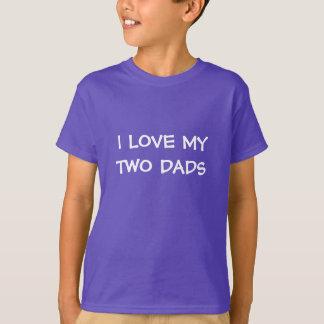 Eu amo meu tshirt de 2 pais