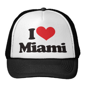 Eu amo Miami Boné