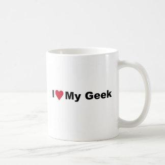 Eu amo minha caneca do geek